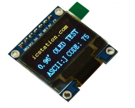 "0.96"" Inch I2C IIC SPI Serial 128X64 Yellow Blue OLED Display Module 0.96"" SSD1306 for Arduino"
