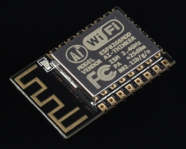 ESP-12F Serial Port Module 2.4GHz-2.5GHz 3.0-3.6V 80mA Support WPA/WPA2