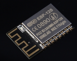 ESP8266 Serial Port To Wifi Module Wireless Transmission 3.0-3.6V 16*24*3mm 80mA