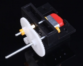 C1A Reduction Gear Box Motor 1:20 for DIY Model Accessories