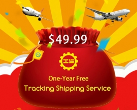 New!!! Prime Benefits: 1 Year Standard Shipping with Tracking Number Service