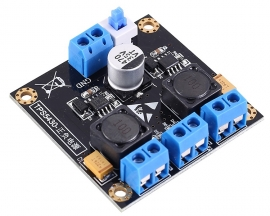 TPS5430 30W Positive Negative Dual Buck Step Down Power Supply Module with Switching 12V Output