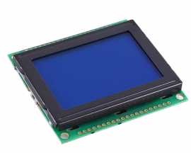 DC 3.3V LCD12864 LCD Display Module White Character Blue Background Dot Matrix 128x64 Screen KS0108B Driver
