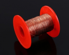 QA-1/155 0.25mm 100g Polyurethane Enameled Copper Wire Electromagnetic Wire 2UEW For Transformer Wire Inductance coil