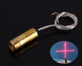 650nm 5mW 3V Laser Red Cross Symbol Module Red Laser Diode Laser Pointer Horizontal Positioning Light