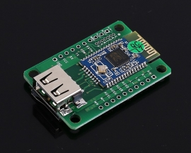 BK3254 Bluetooth Power Amplifier 3Wx2 BLE4.1 Stereo Audio Receiver Module Support U-disk TF Card