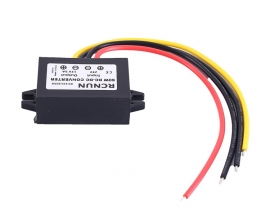 Waterproof Non-isolated DC-DC Step Down Power Supply Module 12V/24V/36V to 12V 5A Buck Voltage Converter for Driving Recorder