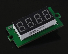 Red Digital Thermometer Display Screen Module Temperature Meter for DS18B20 Temperature Sensor -55℃~125℃
