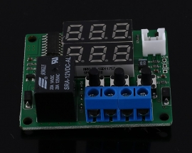 Digital Display Battery Charge Controller Discharging Protector 99.9V for Lead-acid or Lithium Battery