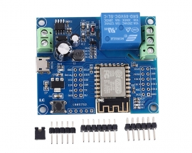 DC 5V 8V-80V ESP8266 Wireless WIFI Relay Controller Module ESP-12F for IOT Smart Home APP