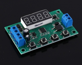 DC 5V 12V 24V Trigger Counter Module MOS Delay Circuit Switch Timer 32-Function