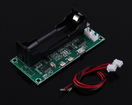 Wireless Bluetooth Digital Power Amplifier Board PAM8403 Class D 3W+3W Stereo Voice Player w/ 18650 Battery Socket