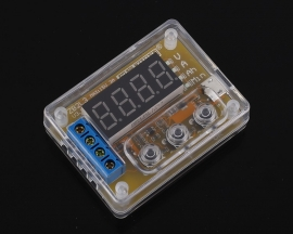 Battery Capacity Tester Ah for 18650 Lithium Battery Lead-acid Battery Voltage Current Indicator Display Module