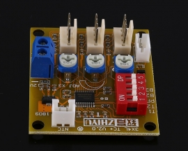 DC 12V 3Bit PWM 4-Wire Fan Temperature Controller 3A Speed Governor for PC Fan/Alarm