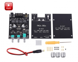 TPA3116D2 Wireless Bluetooth Audio Stereo Module 50W+50W BLE5.0 AUX Treble/Bass Adjustable Digital Amplifier Module