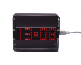 DIY Kit Electronic Clock DS3231 LED Dot Matrix Screen Display Thermometer
