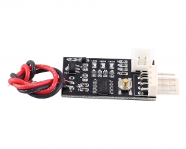 DC 12V PWM Fan Temperature Controller Adjustable Speed Governor for 4-Wire Computer Fan