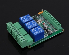 RS485 Modbus-RTU 12V 3Bit Relay Module 3-Channel Switch Controller for Arduino