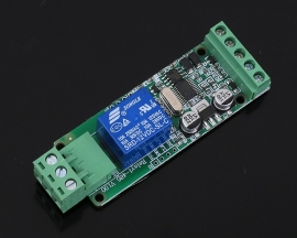 RS485 Modbus-RTU 12V 1Bit Relay Module 1-Channel Switch Controller for Arduino