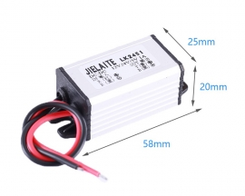 DC-DC 12V 24V to 5V 1A Step Down Power Supply Module IP68 Waterproof Buck Conveter Voltage Conveter