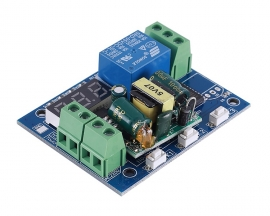 AC 110V 220V Power-ON/OFF Trigger Delay Controller Module Display Adjustable Timer Cycle Delay Switch Module