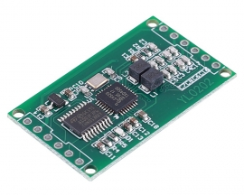 DC 3.3V 5V 5.5cm RFID Read Module 13.56MHz TTL/Wiegand WG34 Output M1/S50/S70 IC Card Reader Contactless Controller