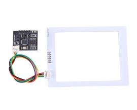 DC 3.3V 5V 8cm RFID Read Write Module 13.56MHz TTL UART Output M1/S50 IC Card Reader Writer Contactless Controller