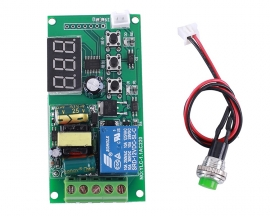 AC 110V 220V Button Control Switch High Level Signal Trigger Countdown Timer Relay Switch Module LED Display