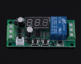 DC 5V Button Control Switch High Level Signal Trigger Countdown Timer Relay Switch Module LED Display