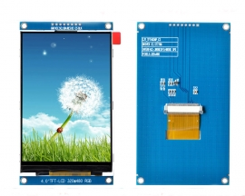DC 3.3V 4.0inch TFT LCD Display Module RGB 320*480 ST7796S Driver SPI Interface 320x480 Resolution