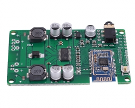 DC 12V BLE5.0 Mono Bluetooth Amplifier Module TWS 20W/30W Bluetooth/MIC/AUX Audio Input Support Change Name and Password Call
