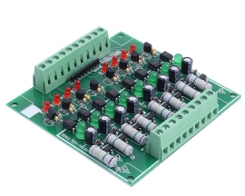 AC 110V 220V 8-Channel Optocoupler Isolation Module NPN Low Level Output AC Testing Module Power Monitor