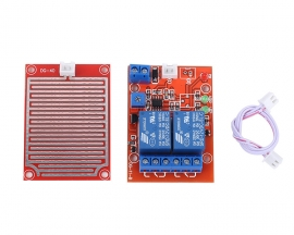 12V Raindrop Controller Leaf Humidity Module One Raindrop Sensor Controls Two Relays To Output Module