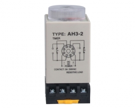 AH3-2 Time Relay DC 12V Adjustable Delay Control Timer 8 Feet 30s