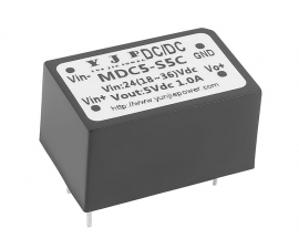 DC24V-5V Isolated Step-Down Power Supply Module 5W 1A DC-DC Buck Converter