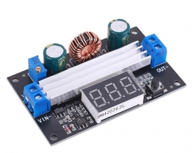 DC-DC Boost Power Supply Module DC 3V-35V to DC 3.5V-50V 6A 100W High Power Digital Display
