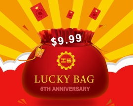 ICStation 6th Anniversary $9.99 Surprising Lucky Bag