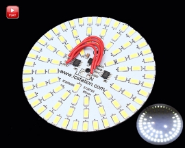 [L173] Icstation 30W 5730 White LED Light Emitting Diode 83pcs SMD Board 85mm Diameter Board 220V