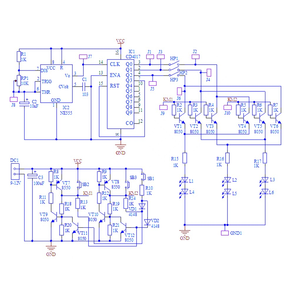 DIY Kit og AC three-phase Controller Motor Forward and Reverse ... Irig Schematic on