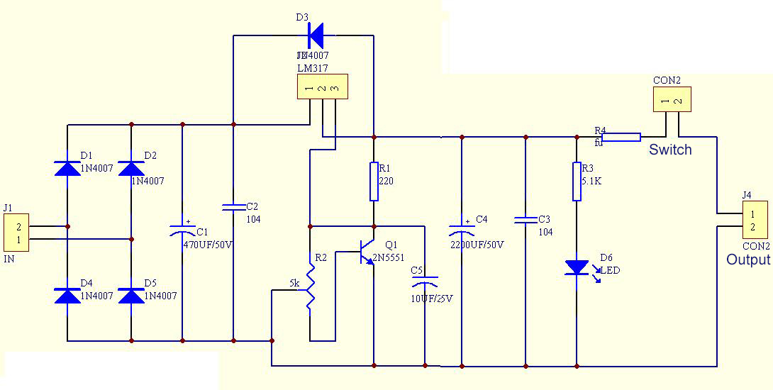 Lm317 Adjustable Step Down Module Dc 5v Dc Power Supply Module