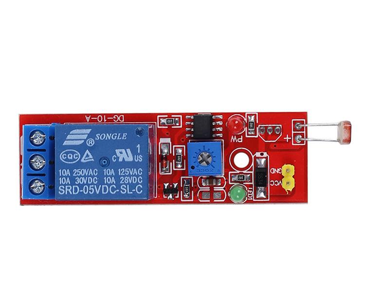 NEW LSR Light Sensitive Sensor Relay Photosensitive Optical Relay Module 5V CA