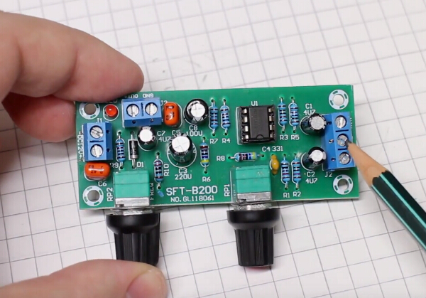 NE5532 Bass Subwoofer Preamp Board Adjustable Low Pass Filter Board