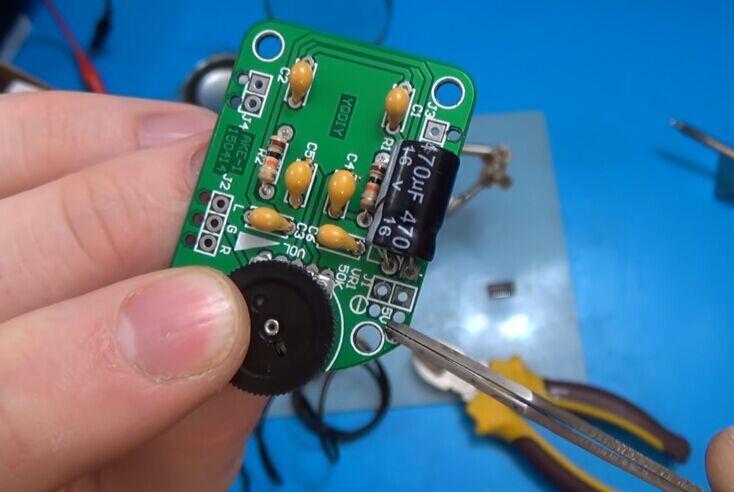 DIY Audio Power Amplifier Board Kit Radio Speaker Loudspeaker DIY