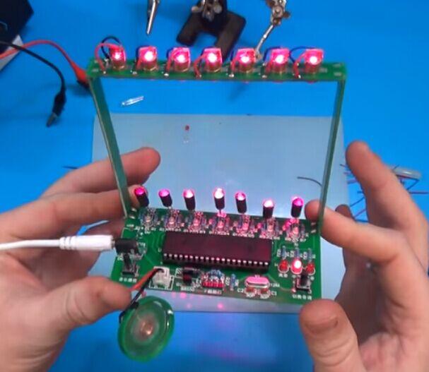 DIY Kit C51 MCU Laser Harp Kit String Electronic Keyboard