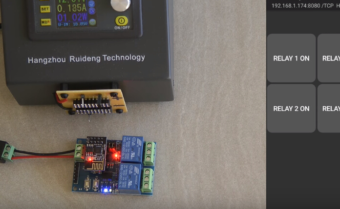 ESP8266 WiFi 12V 2 Channel Relay Module IOT Smart Home