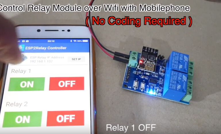 ESP8266 WiFi 12V 2 Channel Relay Module IOT Smart Home