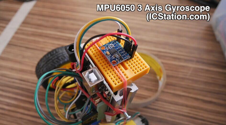 MPU6050 3 Axis Gyroscope Accelerometer Sensor Module (3V-5V