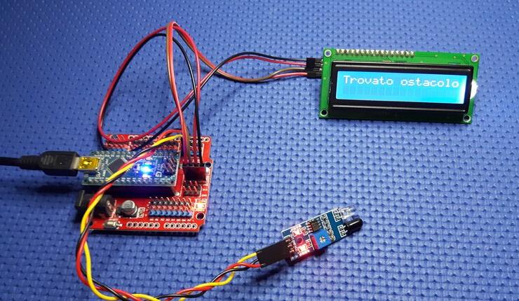 Obstacle Avoidance Infrared Sensor Module Reflection