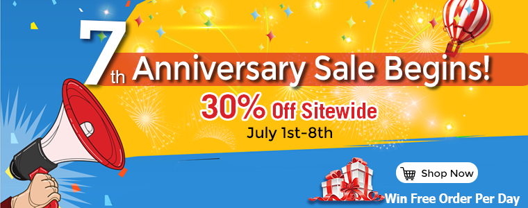ICStation 7th Anniversary Sale Round 1