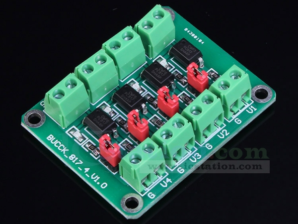 Pc817 4 Channel Optocoupler Isolation Opto Isolator Module Voltage Converter Module 3 6 30v